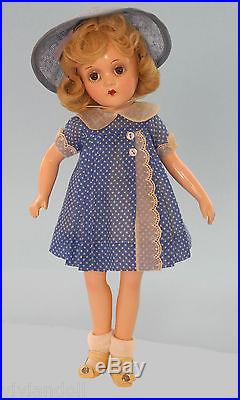 13 Swivel Waist Alexander Wendy Ann Composition. 1930's Fabulous/orig. Costume
