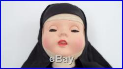 18 Catholic Nun Walker Doll with Sleep Eyes Open Mouth Teeth Madame Alexander