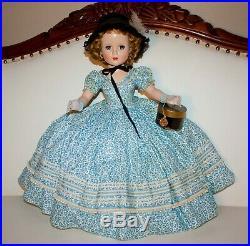 18 EXTREMELY RARE Vintage Madame Alexander Blue VARIATION Edwardian Glamour