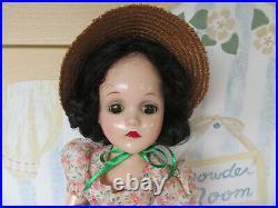 18 Scarlett O'Hara GWTW Madame Alexander Composition Doll Wendy face Gorgeous