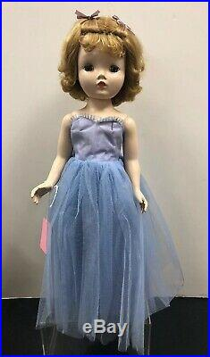 18 Vintage Antique Madame Alexander Binnie Walker in Original Dress 1953 #S