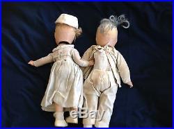 1930s Madame Alexander Dr. Dafoe and nurse dolls