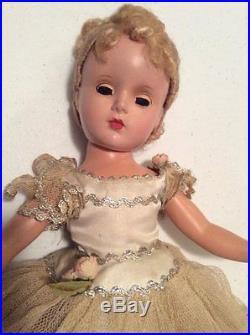 1950's Madame Alexander 14 Nina Ballerina all original. Margaret Face