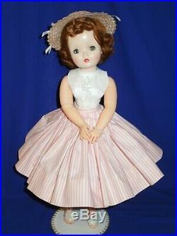 1950's Madame Alexander 20 redhead Cissy doll