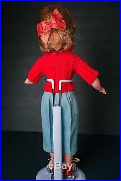 1950's Madame Alexander Kathy Skater Doll 15 Factory Clothes