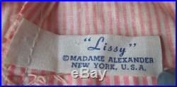 1950's Madame Alexander LISSY Doll CISSY's Sister In Tagged Clothes