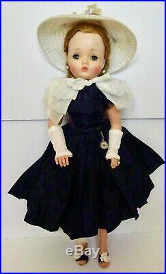 1950's Stunning 20 Vintage Madame Alexander Hard Plastic Cissy Orig Dress All