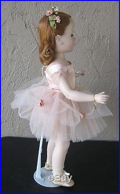 1950's Stunning 21 Madame Alexander Ballerina Pink Outfit All Original Tagged