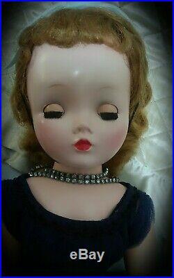 1950s 21 inch Tagged Madame Alexander Cissy doll