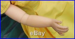1950s Madame Alexander 20 Cissy Doll-Lt Brown Hair-Blue Eyes-Orig Yellow Dress