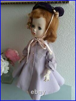 1950s Madame Alexander'Sweet Violet' 18 Doll, Cissy Binnie Face, All Original