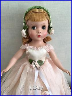 1951 Madame Alexander 14 Rosamund Bridesmaid in pink with box