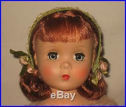 1951 Madame Alexander 15 HP Maggie Face Rosamund Bridesmaid Doll NM MS21