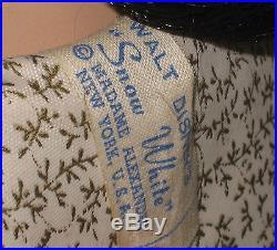 1952 Madame Alexander Snow White 20 Stunning Rare with Wrist Tags FAO Display