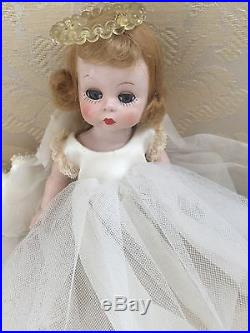 1953-54 QUIZ-KINS Angel DOLL WITH PUSH BUTTON on BACK MADAME ALEXANDER Wendy