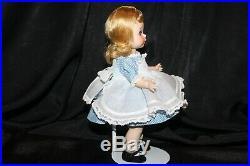 1954 Madame Alexander SLW Alice in Wonderland Rare Gorgeous Doll