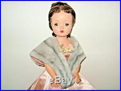 1956 Madame Alexander 20 CISSY DOLL BRUNETTE All ORIGINAL NUDE DOLL ONLY