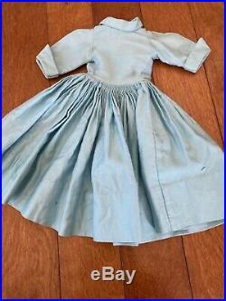 1957 Cissy Aqua Shirtwaist Dress #2130, tagged