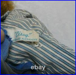 1957 Cissy Doll in Bon Voyage Outfit 20 Inches