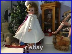 1958 Madame Alexander VHTF 16 Elise JUNIOR LEAGUE Doll Blonde Hair MINTY WithBOX