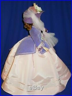 1959 Madame Alexander Purple Godey Gay Nineties Cissy doll