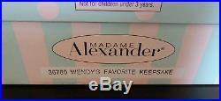 2003 8 Madame Alexander Wendy's Favorite Keepsake style #36780 MINT Unopened