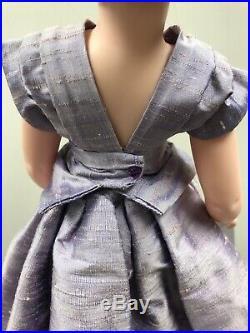 20 Vintage Alexander Cissy Doll Redressed In Yardley Raw Silk Purple Dress #S