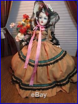 21 Madame Alexander 1946 Composition Portrait Scarlett O'Hara Original MA tag
