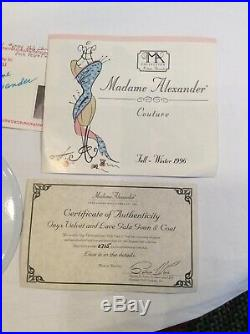 21 Madame Alexander Onyx Velevet & Lace Gala Gown & Coat Cissy Doll