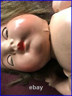 (3) Dionne Quintuplet 12 Madame Alexander 1930s Composition Toddler Dolls