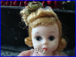 3 VINTAGE 1950's MADAME ALEXANDER Dolls Original Dress CISSETTE, ALEX +