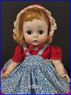 8 All Original 1954 Madame Alexander Alexander-kins Triple Stitched Hair Mib