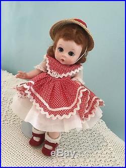 8 vintage Madame Alexander doll 1953 alexanderkins