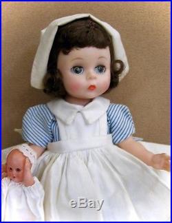 Adorable Vintage Hard Plastic Wendy Kins Nurse Doll #460 By Madame Alexander