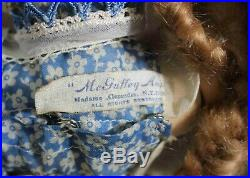 A FABULOUS DOLL McGUFFEY ANA by MADAME ALEXANDER Hard Plastic