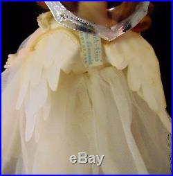 Alexander Kins Madame Alexanderkins Guardian Angel Tagged Wings Halo Whites Harp