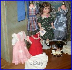 Alexander Vintage Wonderful Maggie 18 Hard Plastic With Box & Clothes & Other
