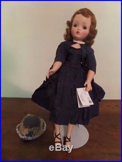 All Original 1950's Madame Alexander Cissy Doll HIGH BLUSH Redhead&Wrist Tag HTF