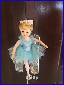 All Original Vintage Madame Alexander Elise 15 Ballerina Doll And Box