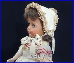 All original c1950-1953 Madame Alexander 17 Madelaine Doll