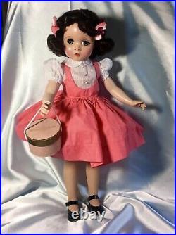 Beautiful! 1950s Vintage 18Madame Alexander Maggie Teenager Wardrobe & Case