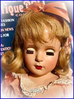Beautiful Vintage Madame Alexander 17.5 hp Margaret-face Wendy Ann Doll