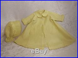 Beautiful Vintage Madame Alexander CISSY HTF Raincoat, Hat and Dress A Must See