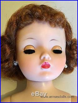 Beautiful Vintage Nude Madame Alexander Redhead Cissy Ready to Dress