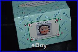 Betty Boop Porcelain Figurine Box, NEW, by Madame Alexander