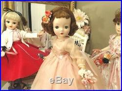 CISSY Madame Alexander 1955 20 ORIG REDHEAD! AQUA EYES! BRAMBLE & TWIG PEACH