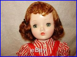 CISSY Madame Alexander All Original Auburn Hair Beautiful! 1950's