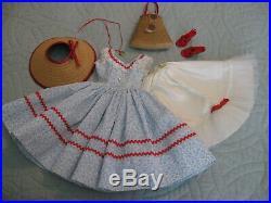 CISSY TAGGED DAY DRESS + TAGGED SLIP + ACCESSORIES (No Doll)