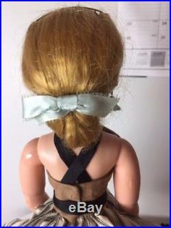 Cissy Doll Madame Alexander Vintage 1950's Strawberry Blonde Cissy Doll Dressed