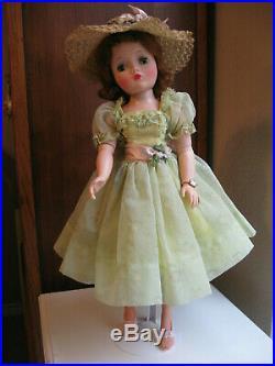 Cissy's Sjeer Green Dress (1958), Hat, Slip, Panties, Extras